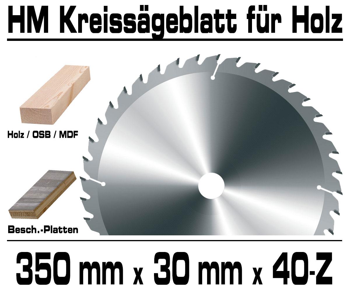 1 HM Widia Kreissägeblatt 400x30 mm f Holz u Kunststoff 36 Z Kreissägeblätter