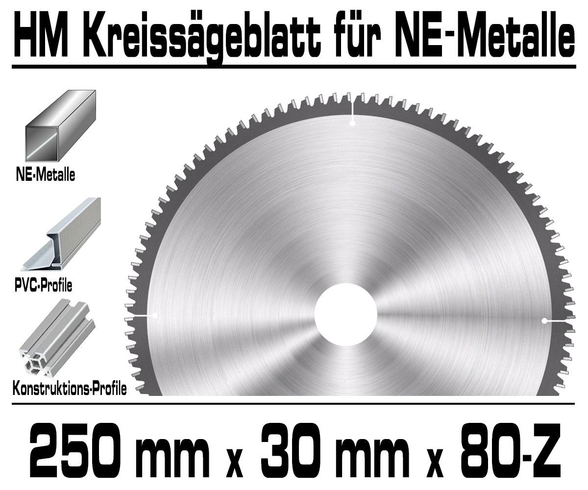 ALU NE-Metall HM Kreissägeblatt Kreissäge Kappsäge Sägeblatt Ø 200mm x 30 x 60-Z