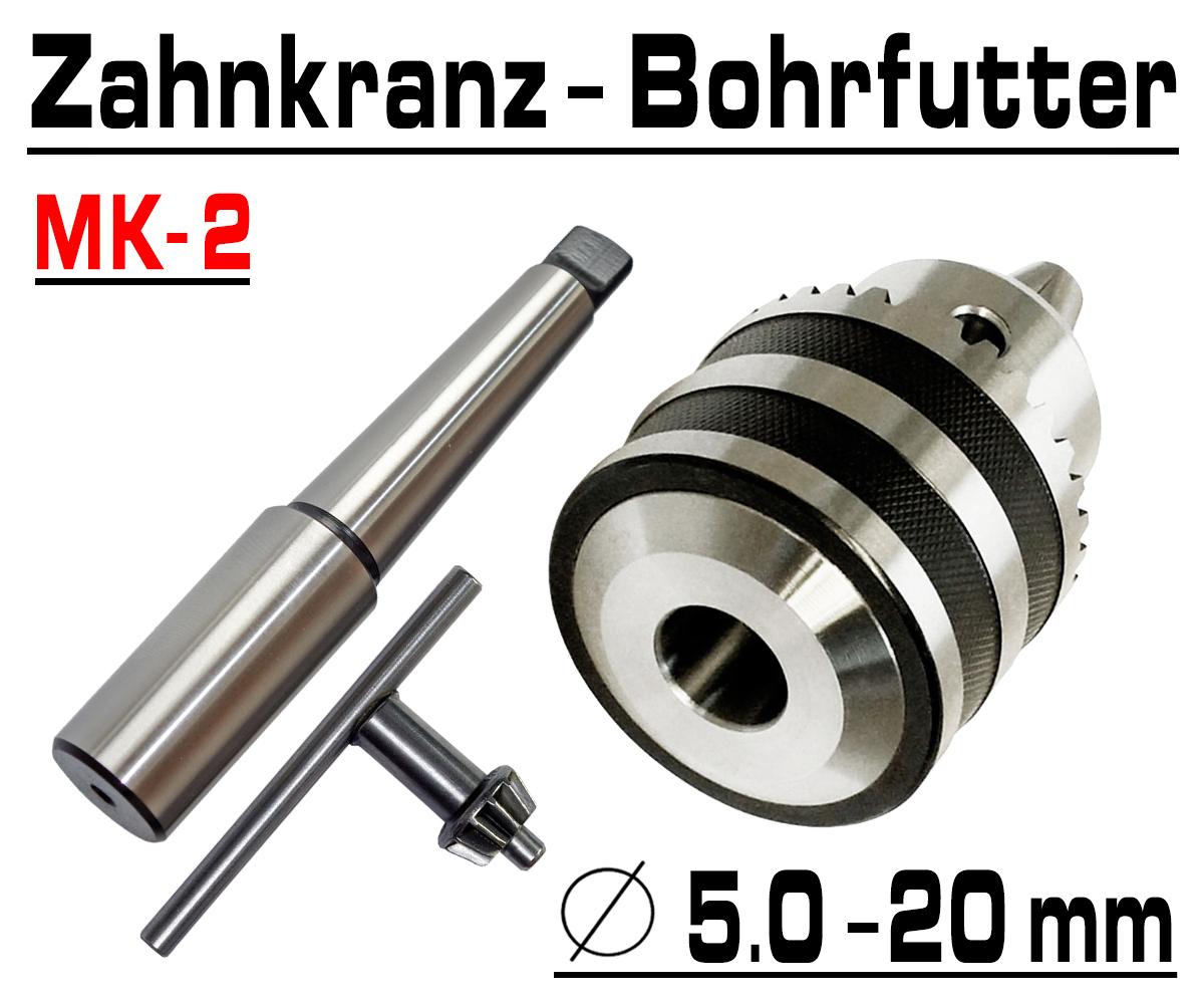 Schnellspann Bohrfutter Bohrmaschine CNC Futter 5-20mm Konus B22 Kegeldorn MK2