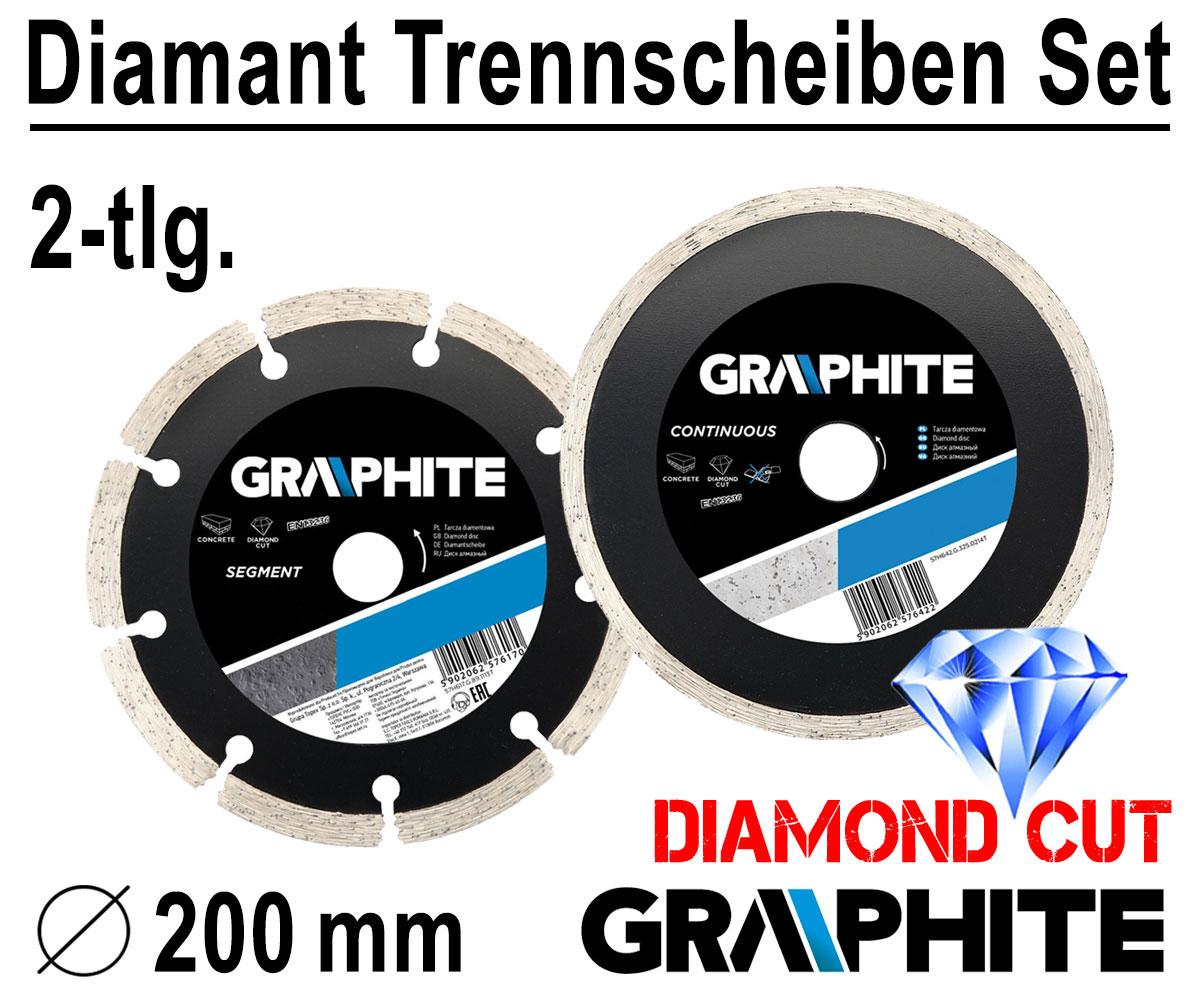 Diamanttrennscheibe Diamantscheibe Diamantsägeblatt Ø 230 mm Winkelschleifer