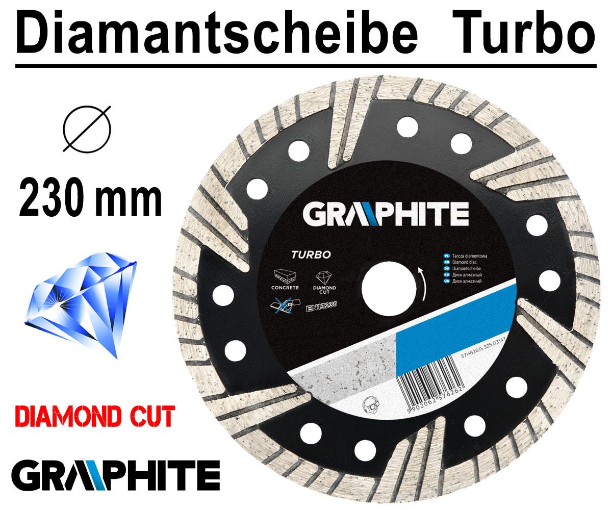 125mm Diamanttrennscheibe Diamantscheibe Beton 22mm Segment Diamantscheibe
